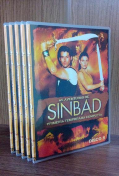 Dvd As Aventuras De Sinbad - 1ª Temp Dublado - Frete Grátis