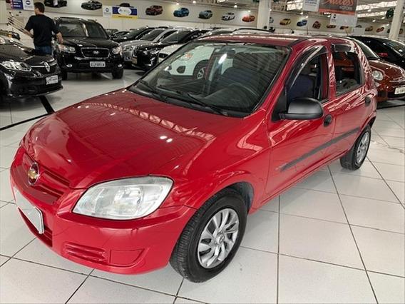 Chevrolet Celta Gm/ Celta 1.0 Spirit 4 Portas - Vermelho - 2