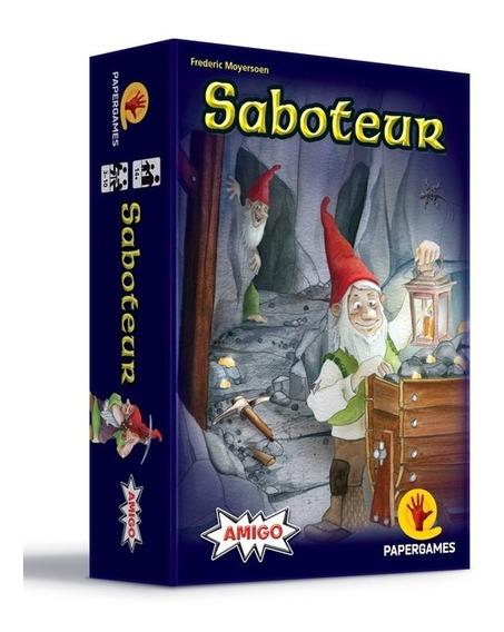 Card Game - Saboteur + Promo Ouro Perdido