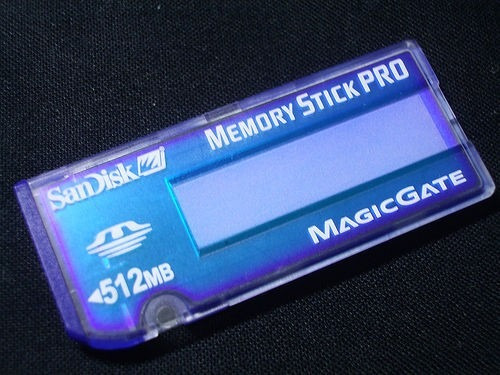 Memoria Stick Pro Sandisk 512 Mb Original Blister Cerrado