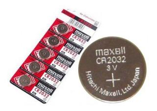 Pila Litio Boton Maxell Cr2032 Lithium 3v X 10 Unidades