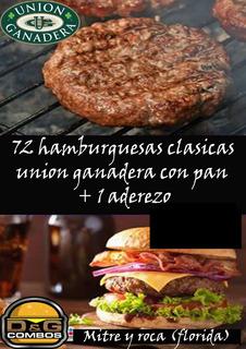 72 Hamburguesas Union Ganadera Con Pan, Cumpleaños !!