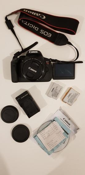 Canon T5i Com Lente 50mm 1.8