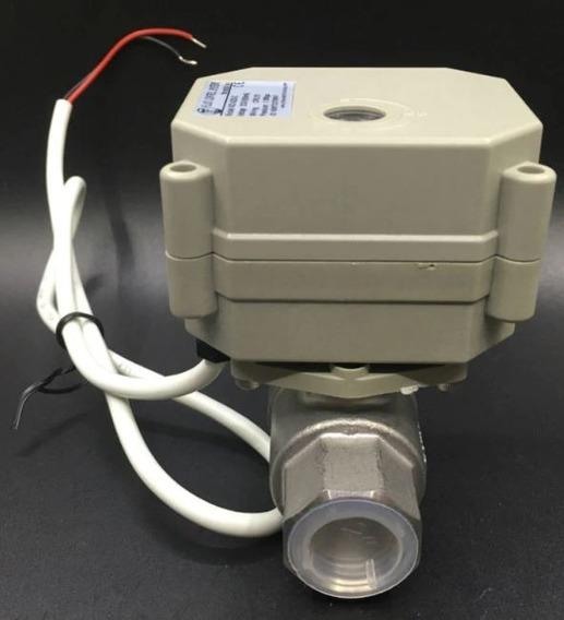 Válvula Esfera Motorizada 1/2 - Abertura Proporcional 4-20ma