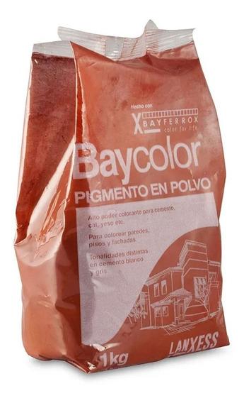 Baycolor Pigmento Importado Oxido Polvo Pisos Colorantes