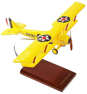 Colección Mastercraft Curtiss Jn4 Jenny Model Scale132