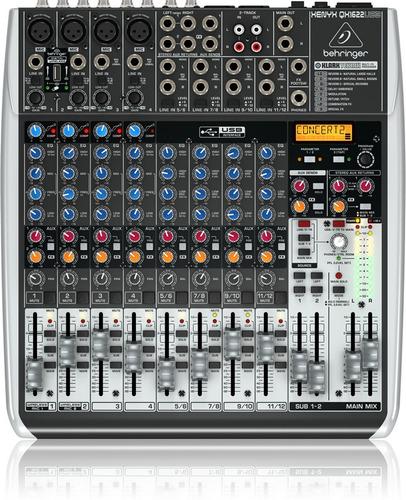 Imagen 1 de 6 de Consola Mixer Behringer Xenyx Qx1622 Usb 4 Canales Mono 4 St