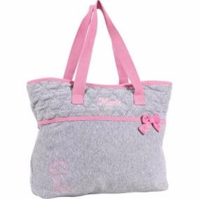 Bolsa Bags Marie Ref:51083 Cinza C/ Rosa