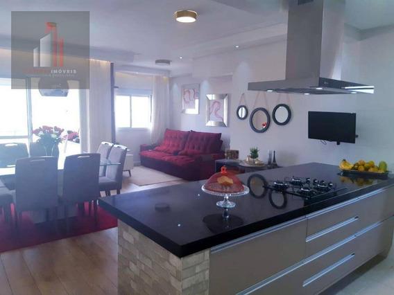 Apartamento Com 3 Dormitórios À Venda, 75 M² Por R$ 499.000 - Vila Pirajussara - São Paulo/sp - Ap0003