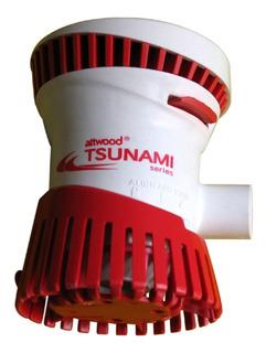 Bomba De Achique 12v Attwood Tsunami 500 Gal/hora Desarmable