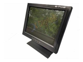 Monitor Touch Screen E-pos Kd151ts 15 Pulgadas Bajo Consumo