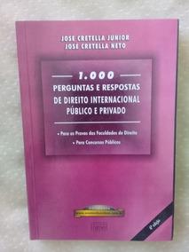 Livro - 1000 Perguntas E Respostas De Direito Internacional