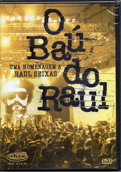 Dvd O Baú Do Raul - Uma Homenagem A Raul Seixas - Lacrado!!