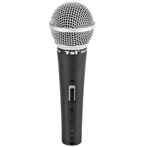 Microfone C/ Fio De Mão Dinâmico - Pro Br Sw Tsi