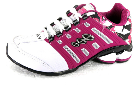 Tênis Esportivo Caminhada Black Free Feminino Masculino 8500