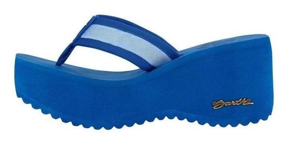 Sandália Barth Hibisco - Azul