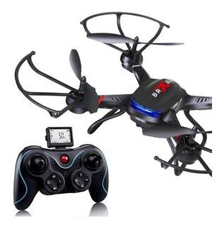 Drone Holy Stone F181c Rc Quadcopter Cámara Video Hd 6 Ejes