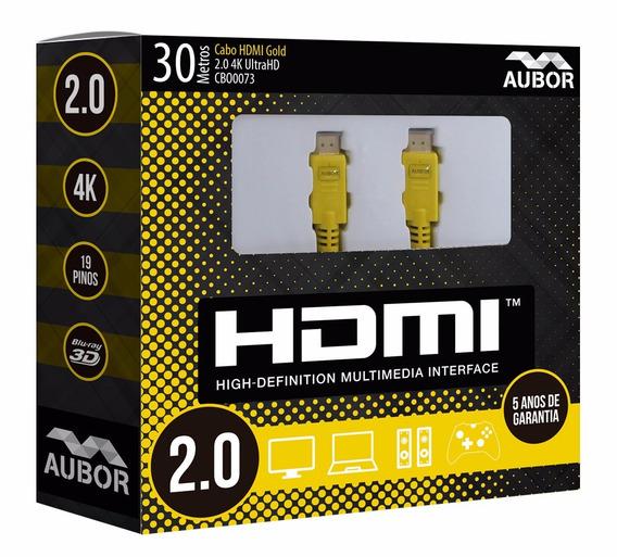 Cabo Hdmi 30 Metros 2.0 4k Ultra Hd - 10868