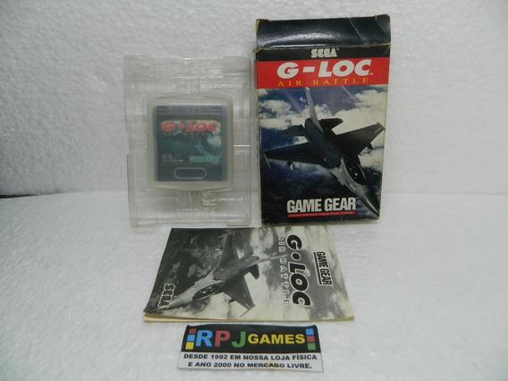 Gloc Original C/ Caixa E Manual P/ Game Gear - Loja Rj