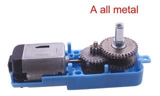 Velocidad De Motor De Engranaje Eléctrico De Metal Reductor