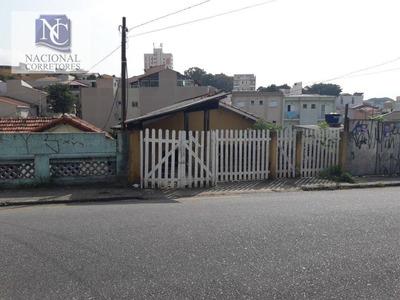 Terreno À Venda, 126 M² Por R$ 450.000 - Parque Oratório - Santo André/sp - Te0893