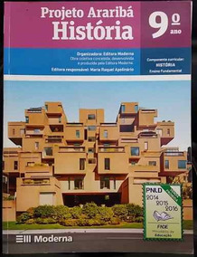 História 9º Ano - Projeto Araribá