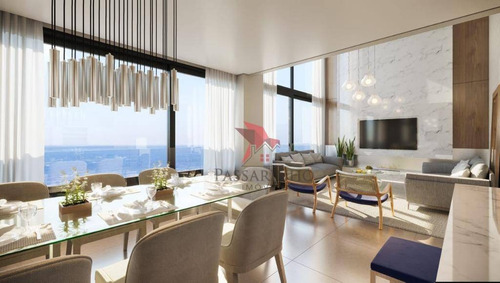 Apartamento Com 3 Dormitórios À Venda, 141 M² Por R$ 1.500.000,00 - Praia Grande - Torres/rs - Ap1448