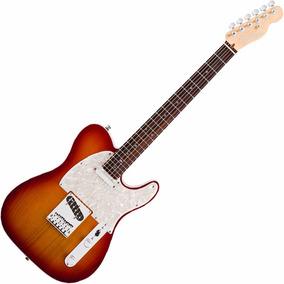 Guitarra Fender Americana Deluxe Telecaster Rw C/ Case Tweed