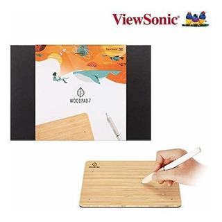 Viewsonic Nueva Woodpad Dibujo Tableta De 7 Pulgadas Con 409
