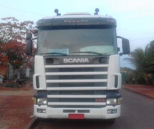 Scania 124 - 420 6x2 Ano 2007