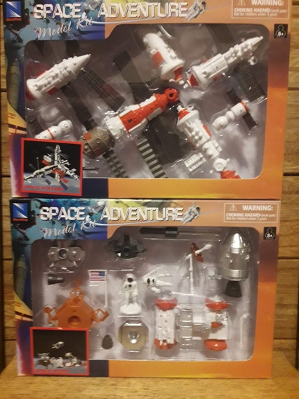 Kit Com 2 Kits Para Montar Space Adventure
