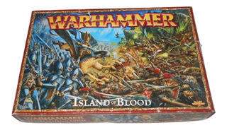 Warhammer Island Of Blood Games Workshop Incompleto +++