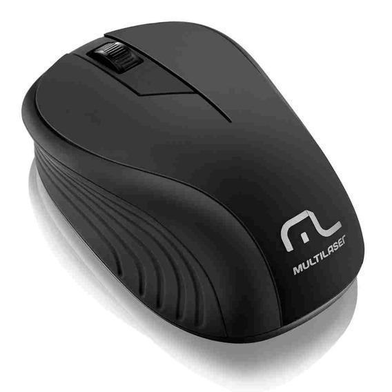 Mouse Sem Fio 2.4ghz Preto - Mo2012 Multilaser