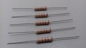 Resistor Constanta 1k8 1/2w Lote Com 05 Peças