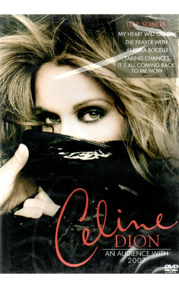 Dvd - Celine Dion - An Audience With 2007 - Lacrado