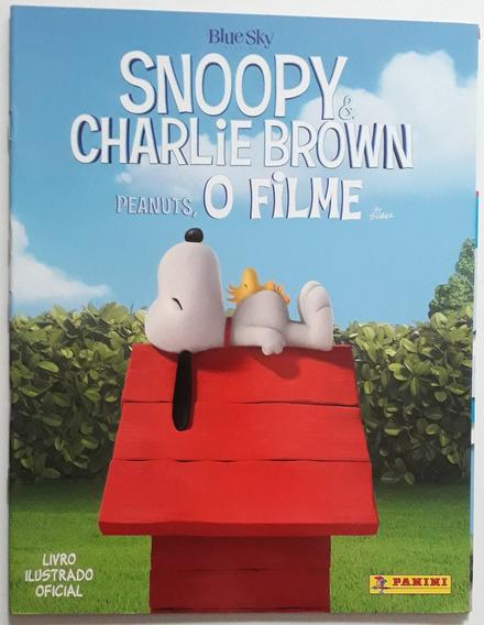 J9532 Álbum Figurinha Vazio Snoopy & Charlie Brown Peanuts