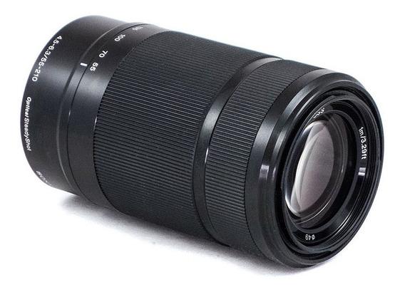 Lente Sony E 55-210mm F/4.5-6.3 Oss E-mount Para Sony