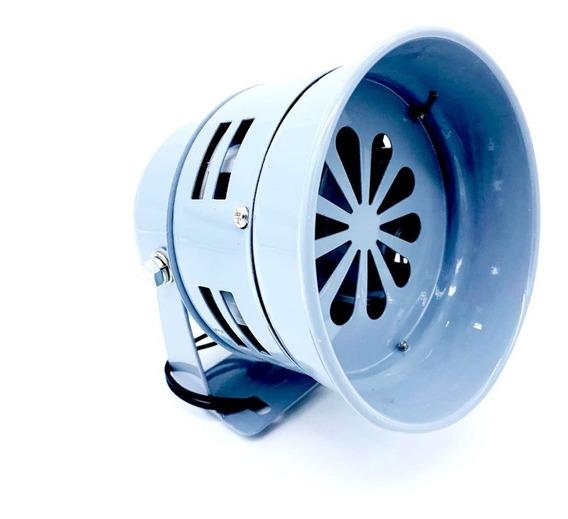 Sirene Rotativa Mecânica Metálica 220v - 115db - Dni 3722