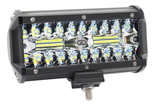 1 Faro Barra Auxiliar Led 120w 40 Leds Cree Spot/flood A-vip