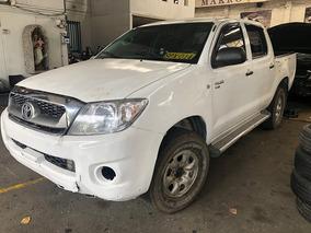 Toyota Hilux 2.5cc Diesel 4x4 Mt Chocada Siniestro Salvament