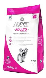Nupec Adulto Razas Pequeñas 8kg. Croqueta Alimento Perro Adu