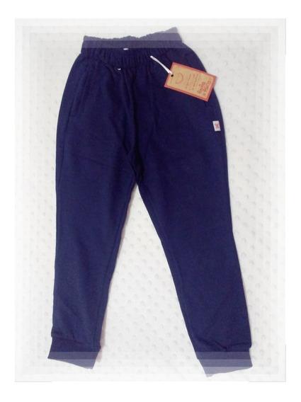 Pantalon Escolar De Rustico Azul