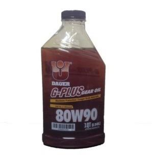 Aceite Dauer Valvulina G Plus 80w 90 Para Cajas Por Litro