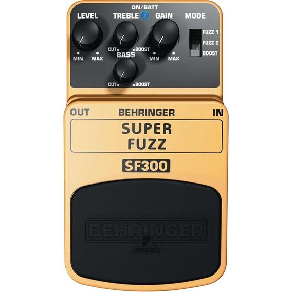 Pedal De Fuzz E Boost Super Fuzz Sf300 Behringer