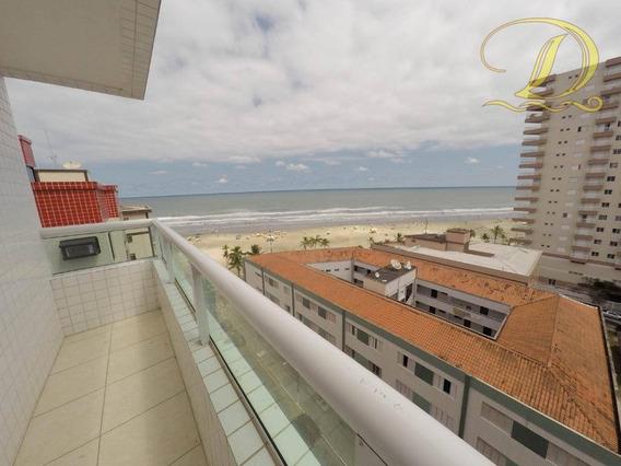 Apartamento Com 2 Dormitórios À Venda, 67 M² Por R$ 275.000,00 - Tupi - Praia Grande/sp - Ap2117