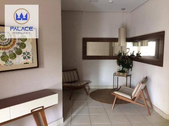 Apartamento Com 2 Dormitórios À Venda, 62 M² Por R$ 320.000 - Paulicéia - Piracicaba/sp - Ap0112