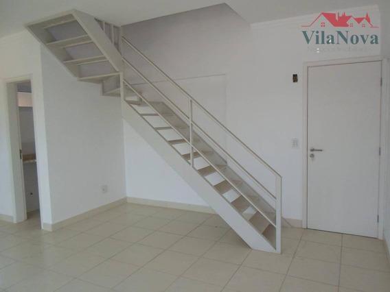 Apartamento Com 2 Dormitórios Para Alugar, 91 M² Por R$ 1.800/mês - Loft Ekko House- Indaiatuba/sp - Ap2376