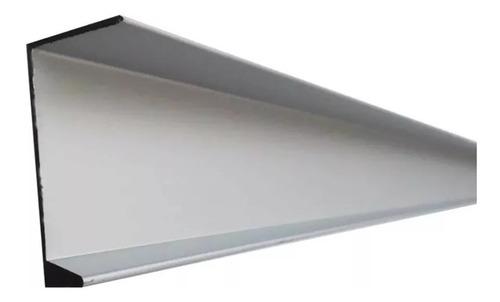 Perfil Tirador De Aluminio L Tipo Invisible Cocinas Closets