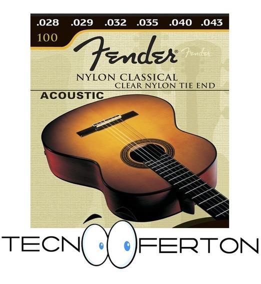 Set 6 Cuerdas Guitarra Acustica Clasica Excelente Calidad