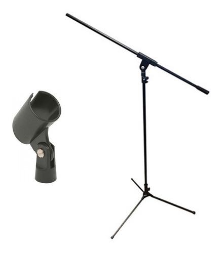 Pie De Microfono Jirafa P/condenser Dinamico + Pipeta
